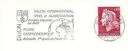 Cover Flamme Meter  Salon International VINS Et ALIMENTATIOn Foire Gastronomique Dyon - Wijn & Sterke Drank