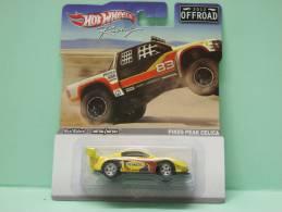 TOYOTA CELICA PIKES PEAK - Racing Offroad 2012 - HOTWHEELS Hot Wheels Mattel 1/64 - HotWheels