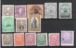 PARAGUAY:lot De 14 TP  Ttes époques 1892...1950 - Paraguay