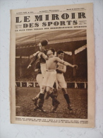 Le Miroir Des Sports N° 354 - 25 Janvier 1927 Vélo/Ruby/Football/Athlétisme/Boxe/Tennis & Sport Mécanique - Livres, BD, Revues