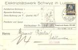 Schweiz, Zu 160, Nachnahme, Rollenmarke, Coil, Roulettes, Poko, Perfin C 34, Luzern 1.9.1925, Siehe Scans! - Covers & Documents