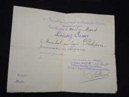 FRANCE - Militaire - Vieux Papier - Détaillons Petite Archive - à Voir - Lot P8891 - Documents
