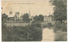 MM 1788 St Vaast D' Equiqueville Coll. Fretel  Gare  Timbrée 1910 - Altri Comuni