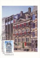 D21005 CARTE MAXIMUM CARD FD 2012 NETHERLANDS - MUSEUM REMBRANDTHUIS AMSTERDAM CP ORIGINAL - Architecture