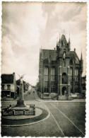 Stekene, Gemeentehuis En Standbeeld (pk21399) - Stekene
