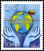 Lithuania 2014 Mih. 1165 UN Security Council MNH ** - Lituania