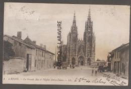51 - L'EPINE--La Grande Rue Et L'Eglise Notre Dame--animé - L'Epine