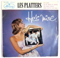 Disque Vinyle 45T LES PLATTERS - HE'S MINE (2) -  MERCURY 14194 - 1957 BIEM - Rock