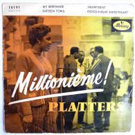 Disque Vinyle 45T LES PLATTERS Millionième - MY SERENADE (2) -  MERCURY 14191 - 1957 BIEM - Rock