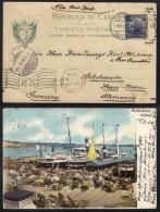 CUBA - HABANA / 1904 CARTE POSTALE POUR L  ALLEMAGNE VIA LE MEXQUE &  LES USA / LIRE DETAIL (ref 6529) - Cuba