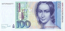 GERMANY FEDERAL REPUBLIC P. 46 100 M 1996 UNC - 100 Deutsche Mark