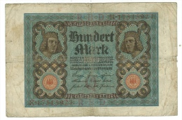 Allemagne // Deutschland // Billet 100  Marks Type 1920 - [ 3] 1918-1933 : République De Weimar