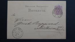 Germany - 1880 - Mi: P10 Used - Postal Stationery - Look Scans - Germany