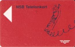 TARJETA DE NORUEGA DE NSB TELEFONKORT DE 20 KR. - Noruega