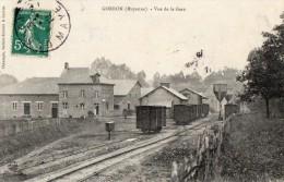 GORRON     Vue De La Gare - Gorron
