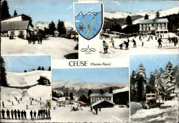 05 - CEÜSE - Station De Ski - Multi Vues - Chasse Neige - France