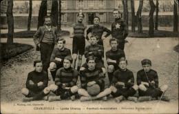 08 - CHARLEVILLE - Lycée Chanzy - Football 1910 - Charleville