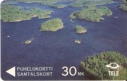 TARJETA DE FINLANDIA DE 30 MK (4FIND) - Finlandia