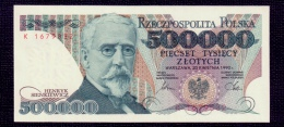 Poland 500000 Zlotych 1990 UNC - Poland