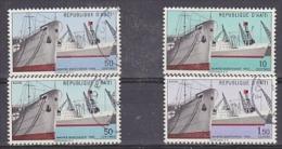 Haiti 1965 Merchant Ships  4v Used (24637) - Barcos