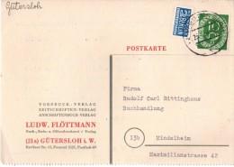 CPA - Rudolf Carl Rittinghaus, Buchhandlung, Mindelheim - 1954 - Allemagne