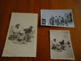 BP1-2-0-3 Middelkerke 1938 Et 1939 Photos Sur La Plage Et Sur La Digue (carte Photo Et Petites Photos) - Sports