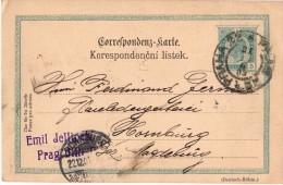 CPA - Suisse - Prague - Prag VIII  - 1903 - Tchéquie