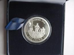 Gibraltar 2014 Commemorative Crown Coin Cased Somme 1916 Proof - Gibraltar