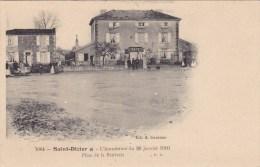 Saint Dizier,inondation 1910,place De La Bénivale,serrurerie Hany - Saint Dizier