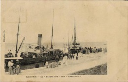 17 ILE D'AIX BATEAU BOYARDVILLE ET CHASSIRON - France