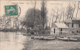 CAEN :  Ecole De Ntation-Crue De L'Orne 1907 - Caen