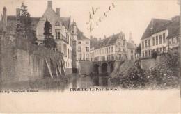 Editeur Van Cuyck Dixmude Le Pont Du Nord.gelopen1903 Met Zegel In Perfekte Staat. - Diksmuide