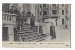 12970 -  En Belgique Officiers Arabes à La Panne 1914 - Weltkrieg 1914-18