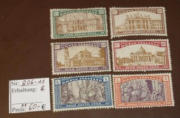 Italiane Michel Nr:  206 -11   * Falz  #4550 - 1900-44 Vittorio Emanuele III