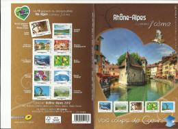 France Collector 2012 **Rhône Alpes Bouquetin Vignes Beaujolais Annecy Anémone Méribel Mont Blanc - France