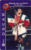 TARJETA DE ESTADOS UNIDOS DE LDDS DEL BOXEADOR OSCAR DE LA HOYA (NUEVA-MINT) BOXING - Estados Unidos