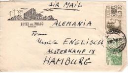 Lettre Timbrée - Hotel Del Prado - Mexico - Mexique - 16.09.1952 - Mexique