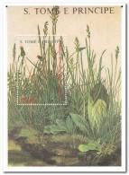Sao Tome 1988, Postfris MNH, Plants - Sao Tome En Principe