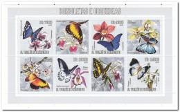 Sao Tome 2006, Postfris MNH, Flowers, Butterflies - Sao Tome En Principe