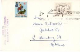 Lettre Timbrée - Suède - 1969 - Cartas