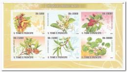 Sao Tome 2008, Postfris MNH, Medical Plants - Sao Tome En Principe