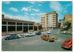 CANICATTI´ - UFFICIO POSTALE E PIAZZA SAN DIEGO - AGRIGENTO - 1969 - AUTOMOBILI - CARS - Agrigento