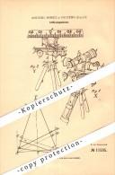 Original Patent - Antonio Morici In Palermo , Italia , 1880 , Telemetro , Sondaggio !!! - Optics
