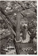 Emilia Romagna-bologna Torre Degli Asinelli E Della Garisenda Particolare(vedi Retro Cart.ferrania)veduta Aerea 1938 - Bologna