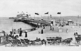 Postcard - Morecambe West End Pier, Lancashire. B - England