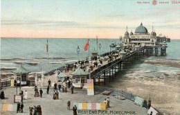 Postcard - Morecambe West End Pier, Lancashire. G55/47 - Angleterre