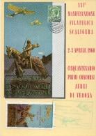 Veneto Verona Cinquantenario Primi Concorsi Aerei Di Verona 1960(vedi Retro) - 1946-....: Era Moderna