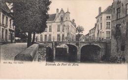 Dixmude   Le Pont Du Nord.edit .Van Cuyck Kaart Zogoed Als Nieuw Gelopen Zegel Af - Diksmuide