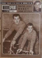 Miroir-Sprint N°809 - 4 Décembre 1961 - Foot-ball : Yachine - Bobet Père Et Fils - Sport