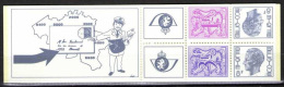 OCB Nr 1897 1899 1901 B15 Carnet 15 Elstrom  Baudewijn Bouduin MNH !!! - Booklets 1953-....